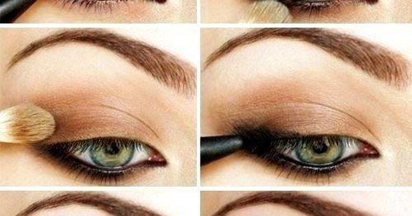 Smoky eye. compliments the green eye so well eyes eye makeup eyemakeup