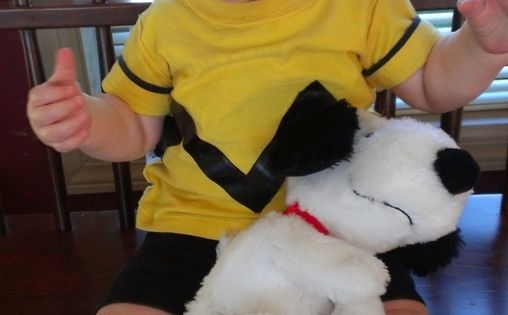 Charlie Brown - cute costume idea! Halloween Costumes