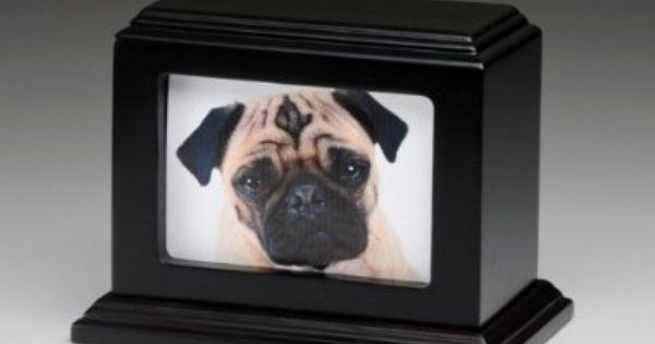 Pet Memorial Keepsake Urn Photo Box Pet Cremation Urn Pet
