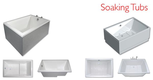 Japanese style deep soaking tubs save space use less water with a step they are easier to - Deep tubs for small spaces concept ...