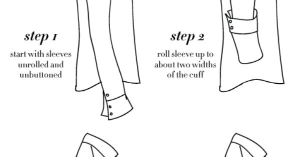 college prep  how to roll sleeves like j  crew