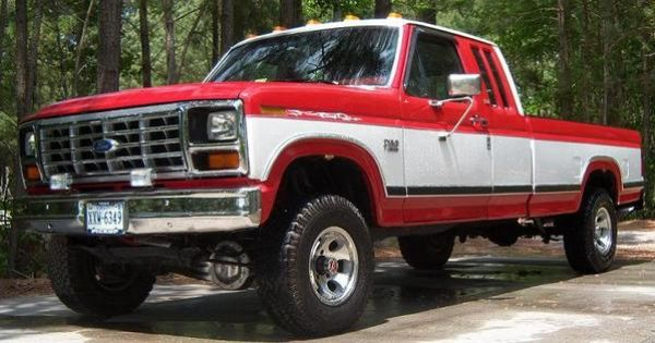 1985 Ford F 350 Crew Interior Pictures Of Red White Or Grey Red Two Tone Page 2 Ford Truck Ford Pickup Trucks Diesel Trucks Classic Ford Trucks