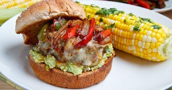 Fajita Burgers By Closet Cooking