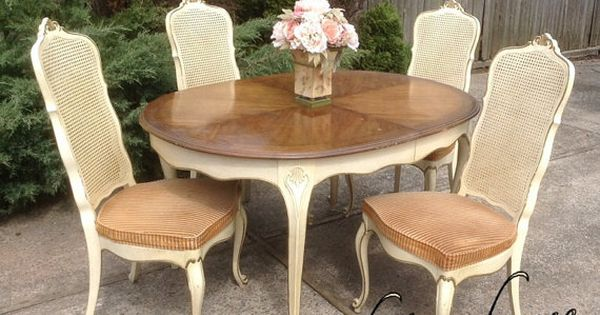 French Provincial Louis Xv Dining Room Set Drexel 2