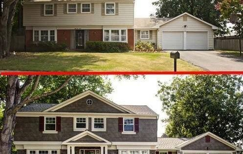 20 Home Exterior Makeover Before And After Ideas Exterior Makeover And Exterior