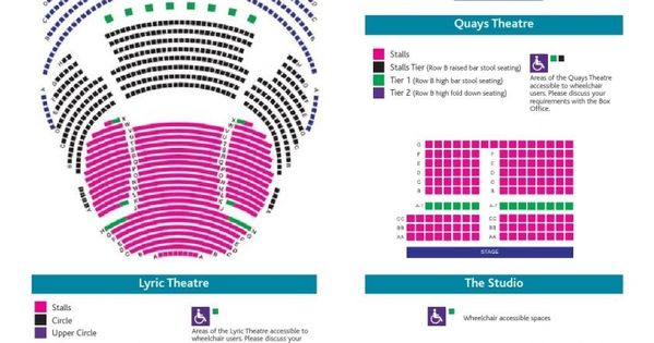 Lowry Lyric Theatre Seating Plan Seating Plan How To Plan Event Planning Quotes