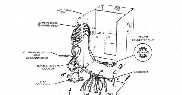 Onan Generator Wiring Diagram For Model 65nh 3cr 16004p