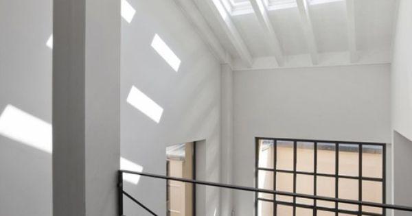 Pin de raquel gallego en escaleras pinterest escalera - Luces para escalera ...