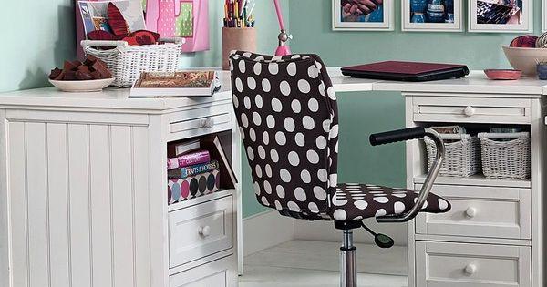 PB Teen Beadboard Basic Corner Desk Chestnut At Pottery