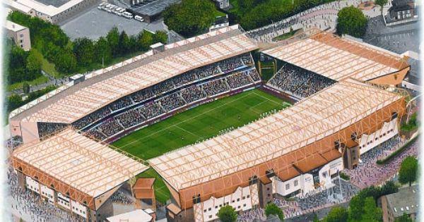 Molineux In Art Home Of Wolverhampton Wanderers F C Great Gifts Sportsstadiaart Com Bosuil