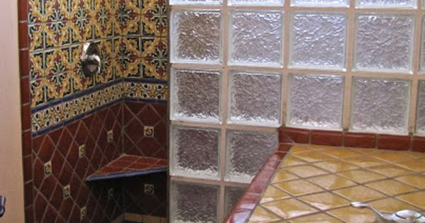Ba o con talavera house ideas pinterest fregaderos for Banos rusticos mexicanos
