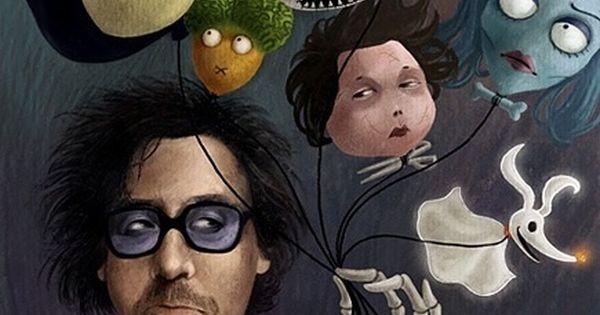 I like Tim Burton's sense of humor and the beauty he puts