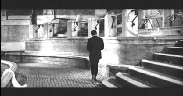 Di Trevi La Dolce Vita 1960 Overseas Adventure Travel Movie Scenes See Movie