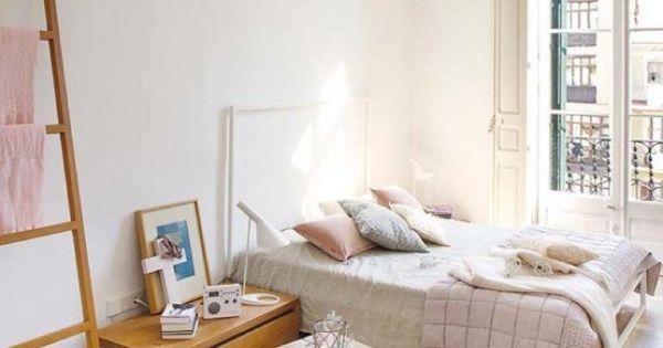 Slaapkamers 10 idee n voor een slaapkamer met wit roze en grijs roze met en slaapkamers - Een kamer in grijs en wit schilderen ...