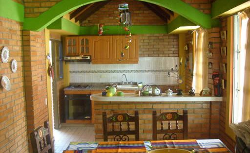 Ideas para la decoraci n de cocinas campestres para m s for Cocinas campestres pequenas