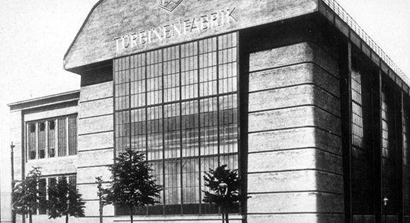 Peter behrens aeg turbine factory berlin germany 1910 for Peter behrens aeg turbine factory