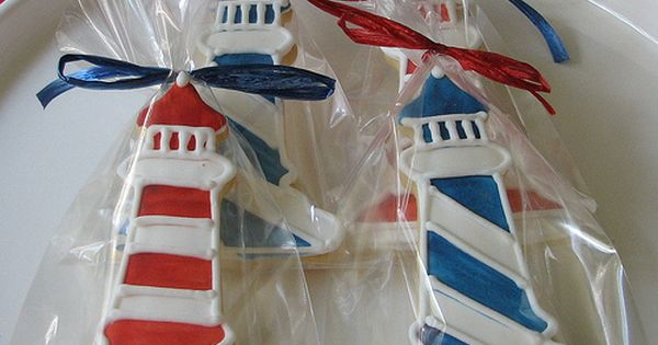 lighthouse sugar cookies