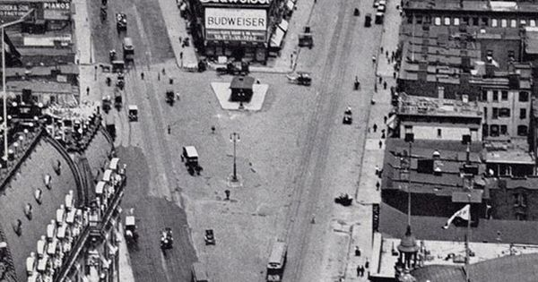 Times Square Before The Old New York Times Building Was