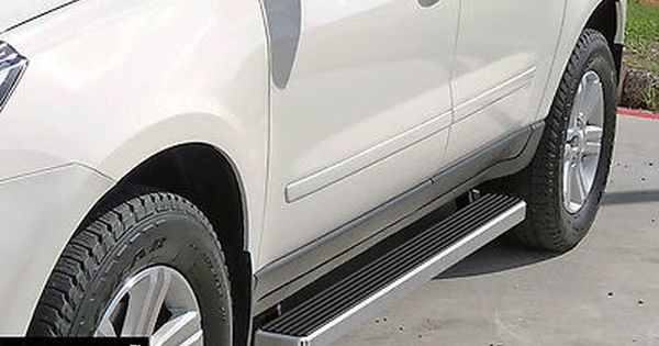 Running Boards 4 Fit 07 16 Gmc Acadia Chevy Traverse 07 10 Saturn Outlook Chevrolet Traverse New Suv Buick Enclave