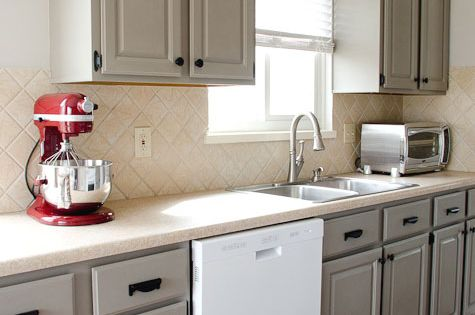Diy white kitchen remodel on a budget kitchen update on a budget from the golden sycamore - Kitchen cabinet updates on a budget ...