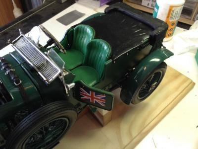 Airfix 1 12th Scale Blower Bentley Detail Build Big Boyz