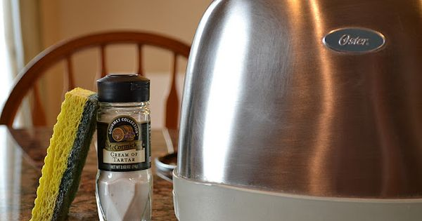 How To Clean Sticky Residue Off Stainless Steel Appliances : mix 1