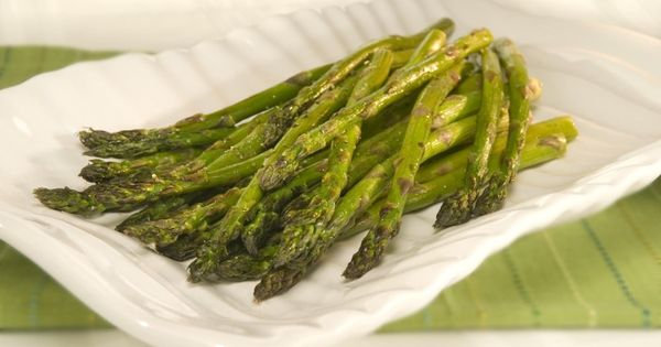 Savory Balsamic Asparagus | Low Fat | Pinterest | Asparagus and Recipe