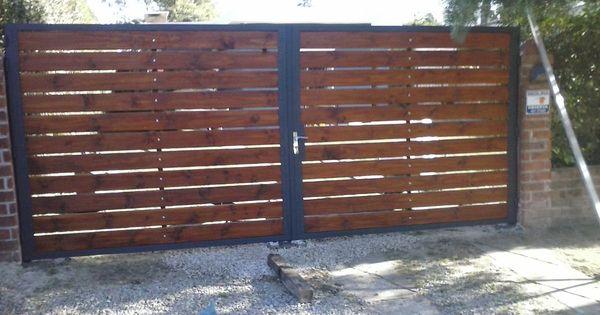 Cerramientos y portones en hierro y madera - Portones de hierro fotos ...