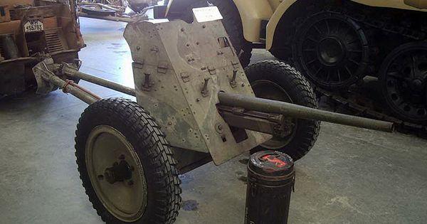 German 50 Mm Anti Tank Gun: German 37mm Pak35-36 Anti-Tank Gun