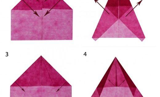 adventsbasteln leicht gemacht origami winter and xmas. Black Bedroom Furniture Sets. Home Design Ideas