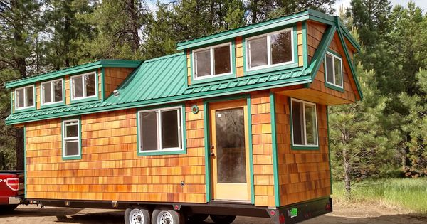 Molecule Tiny Homes Llc: New! Cedar Shake Cottage. 8x24, Two Lofts With Stair Case