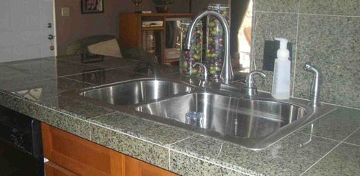 How To Install A Granite Tile Countertop Tile Countertops
