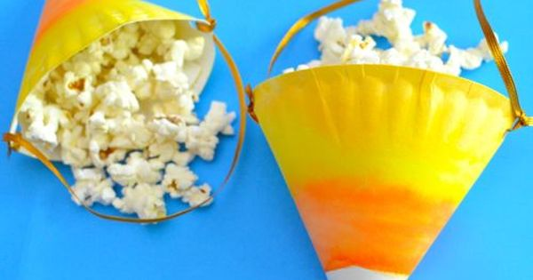 Candy Corn Treat Bags | Inner Child Fun