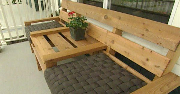 Make Your Own Porch Furniture DIY...Not sure I'm crafty enough, but I