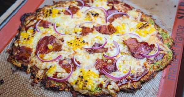 Zucchini Pizza Crust - Low Carb crust. Use your favorite low carb