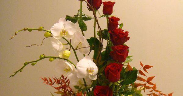 Unique Valentine's rose arrangement designed by Kari Schriever of Lark Floral