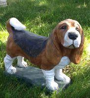 Concrete Dog Statues Unique Lawn Garden Statues Dog Garden