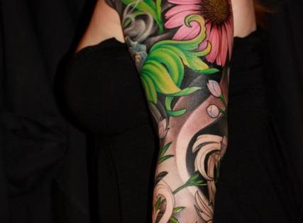 tattoo sleeve flowers - Google Search