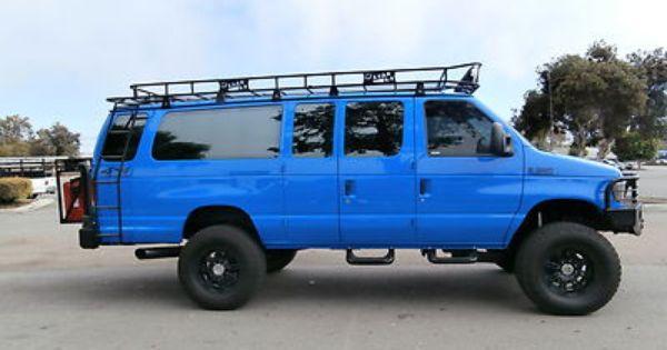 Ford Econoline 4x4 4x4 Van Vans Ford Van
