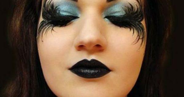 comment faire un maquillage de sorci re de halloween maquillage de sorci re joli maquillage. Black Bedroom Furniture Sets. Home Design Ideas