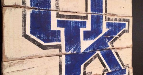 Uk Basketball: University Of Kentucky Wildcats Sign / Wall By