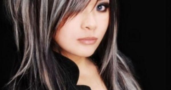 highlights for dark hair glam highlights for black hair
