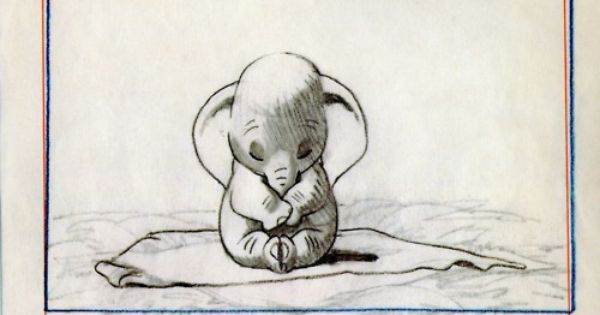 Baby Dumbo. One of my very favorite disney movies.