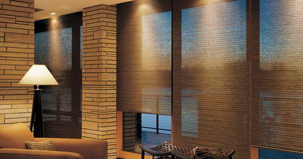 Hunter douglas woven woods motorized blinds shutters for Hunter douglas motorized shades repair