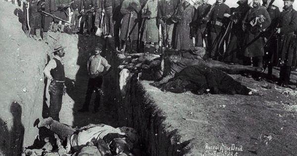 Lakota History: Wounded Knee Massacre, Dec 29 1890