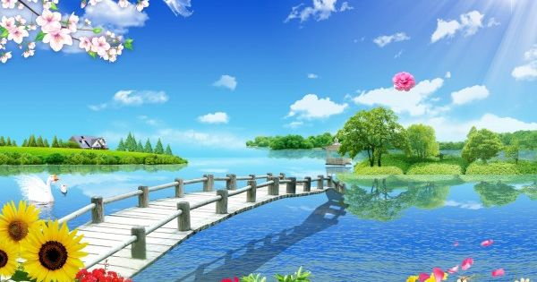 Full Psd Source Files Scenery Wallpaper Beautiful Images Nature Beautiful Landscape Wallpaper