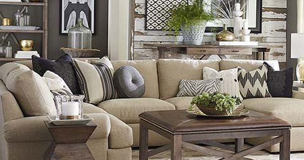 Sutton U-Shaped Sectional by Bassett Furniture