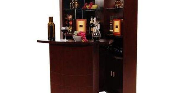 El dorado furniture estella complete corner bar home for Cabine el dorado