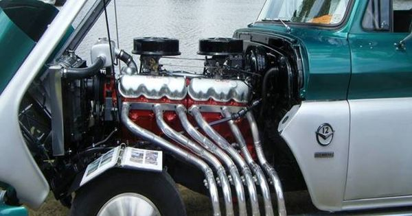 rare 702 cu in twin six largest truck gas engine ever built cars trucks pinterest. Black Bedroom Furniture Sets. Home Design Ideas