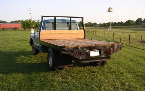 1968 Chevy 1 Ton Flatbed Semi Restored Lots Of New Looks Good
